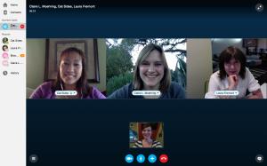 My critique group!
